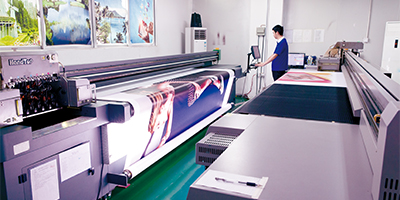 Developed new products and introduced printing technology